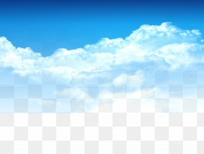 Blue Sky, White Clouds Element, Taobao Material - Cloud Download PNG