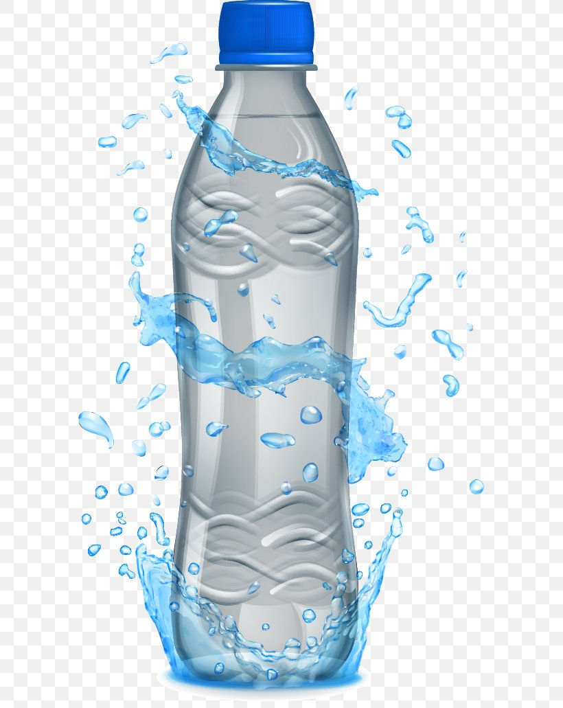 Mineral Water Bottle Packaging And Labeling, PNG, 591x1031px, Water, Blue, Bottle, Bottled Water, Color Download Free