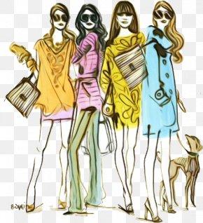 Costume Design Fashion Design - Fashion Design Costume Design Sketch PNG
