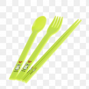 Plastic Fork - Fork Spoon Plastic Chopsticks PNG