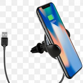 Apple - Battery Charger IPhone X Samsung Galaxy Note 8 IPhone 8 Samsung Galaxy S9 PNG