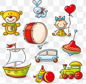 Vector Cartoon Children's Toys - Toy Drawing Stock Photography Illustration PNG