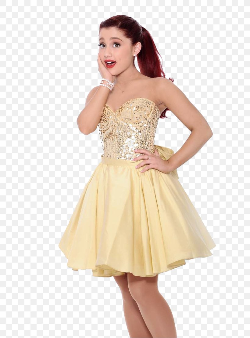 Ariana Grande Problem Dress Nickelodeon Kids' Choice Awards, PNG, 722x1107px, Watercolor, Cartoon, Flower, Frame, Heart Download Free