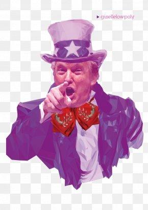 Donald Trump - Donald Trump United States Uncle Sam Graphic Designer PNG