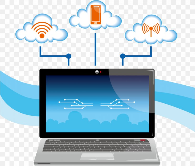 Euclidean Vector Cloud Computing Computer Network, PNG, 1171x1000px, Cloud Computing, Brand, Communication, Computer, Computer Icon Download Free