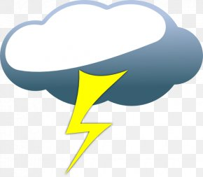 Cloud Lightning Cliparts - Lightning Cloud Cartoon Drawing Clip Art PNG