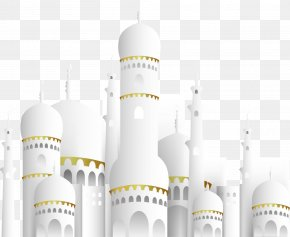 White Islamic Church - Eid Mubarak Eid Al-Fitr Islam Ramadan PNG