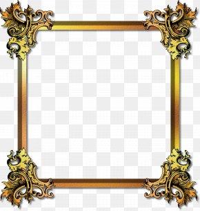 Best Free Frame Gold Image - Picture Frames Gold Film Frame PNG