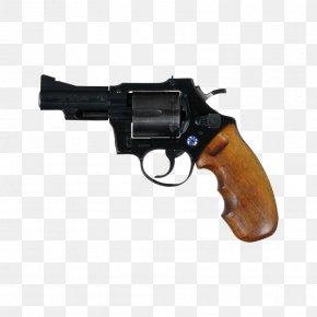 Weapon - Revolver Trigger Firearm Gun Barrel Blank PNG