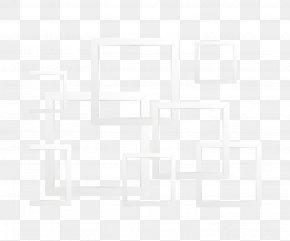 Square Frame - White Black Pattern PNG