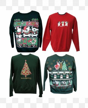 Sweater - T-shirt Christmas Jumper Hoodie Sweater PNG