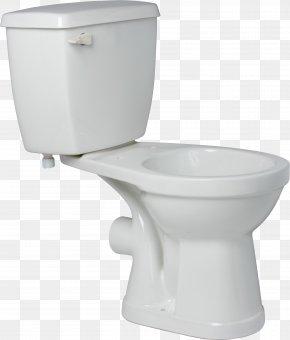 Toilet - Toilet Seat Flush Toilet Bathroom PNG