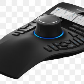 Enterprise X Chin - Computer Mouse 3Dconnexion Computer-aided Design 3D Computer Graphics Computer Software PNG