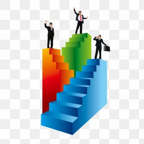 Promotion Ladder - Stairs Ladder Download Icon PNG