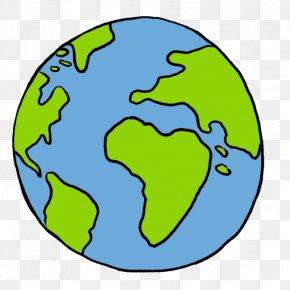 Earth Overshoot Day - World Earth Globe Cartoon Clip Art PNG
