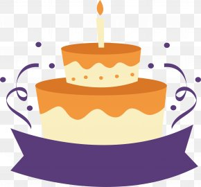Birthday Cake Poster PNG