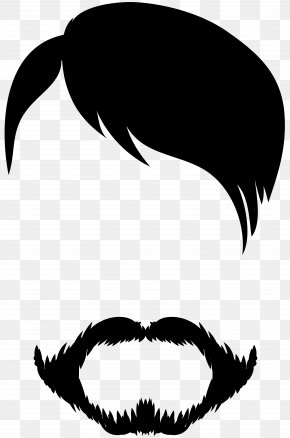 Male Hair And Beard Clip Art - Image File Formats Lossless Compression PNG