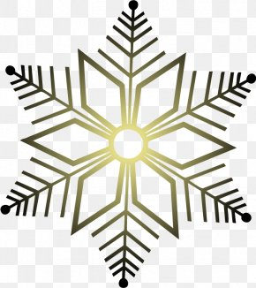 Hand Painted Black Snowflake - Snowflake Red Green Clip Art PNG