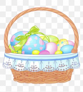 Easter Basket File - Easter Bunny Easter Basket Clip Art PNG