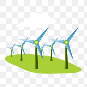Energy And Environmental Protection - Wind Farm Wind Power Renewable Energy PNG