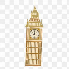 Cartoon Big Ben - Big Ben Drawing Cartoon PNG