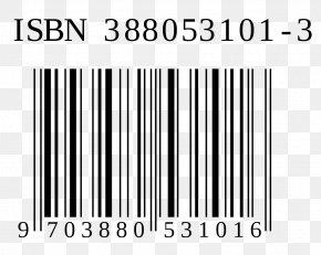 Barcode - International Standard Book Number Information Barcode Publishing PNG
