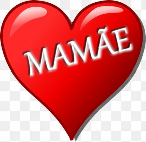 Mother's Day - Mother's Day Heart Drawing Clip Art PNG