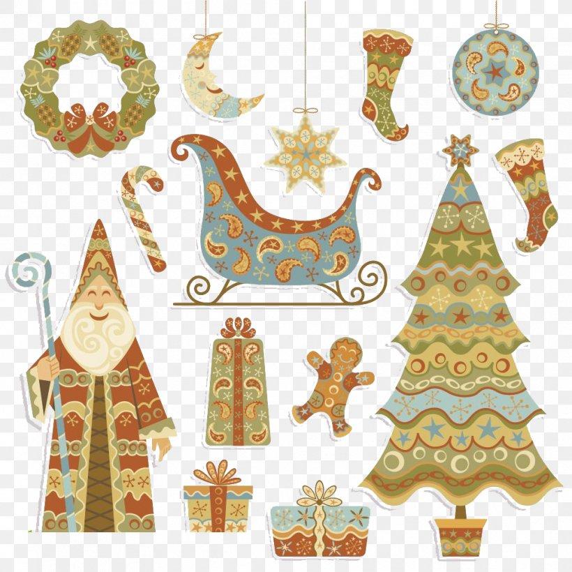 Santa Claus Christmas Stocking Christmas Tree, PNG, 1008x1008px, Santa Claus, Christmas, Christmas And Holiday Season, Christmas Card, Christmas Decoration Download Free