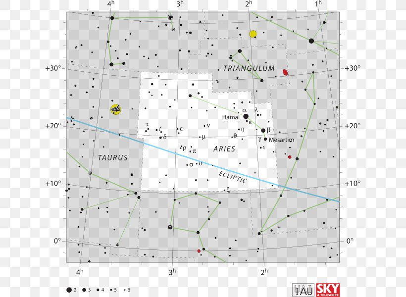 Aries Zodiac Star Chart Alpha Arietis Constellation Png