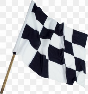 Checkered Flag Material - Auto Racing Checkered Flag PNG