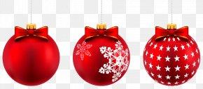 Christmas - Christmas Ornament Rudolph Clip Art PNG