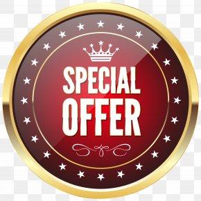 Special Offer Badge Transparent Clip Art Image - Gold Badge Clip Art PNG