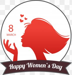 March 8 Women's Day Material - International Womens Day March 8 Woman PNG