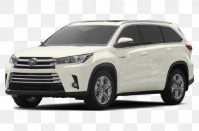 Toyota Highlander - 2018 Toyota Highlander Hybrid Limited 2018 Toyota Highlander Hybrid LE Sport Utility Vehicle 2017 Toyota Highlander Hybrid Limited PNG
