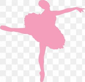 Ballerina - Ballet Dancer Silhouette Ballet Shoe PNG
