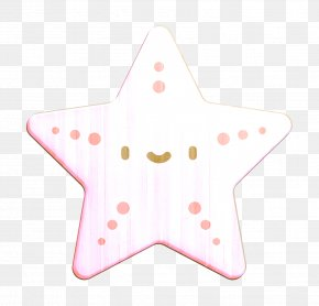 Star Pink - Tropical Icon Animal Icon Starfish Icon PNG