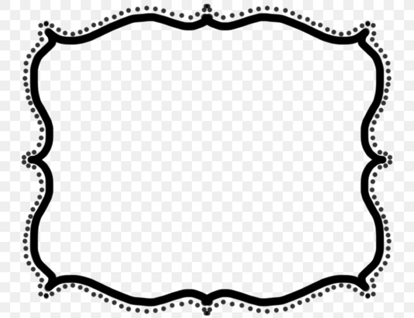 Borders And Frames Picture Frames Clip Art, PNG, 744x631px, Borders And Frames, Area, Art, Black, Black And White Download Free