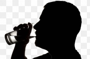 Drinking Man - Drinking Photography Silhouette Royalty-free PNG