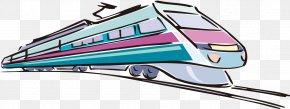 Modern Train - Train Rail Transport Rapid Transit Steam Locomotive PNG