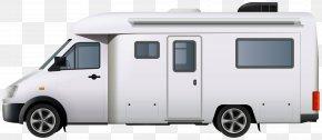 Motorhome Campervan Clip Art Image - Campervan Car Volkswagen Clip Art PNG