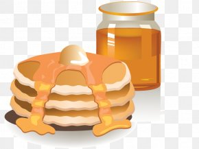 Vector Toast With Jam - Coffee Breakfast Pancake Muffin Bacon PNG