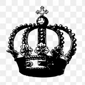 Free Crown Clipart - Crown Black And White Free Content Clip Art PNG