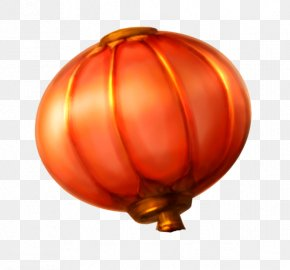 Chinese New Year Red Lanterns - Lantern Chinese New Year Red Mid-Autumn Festival PNG