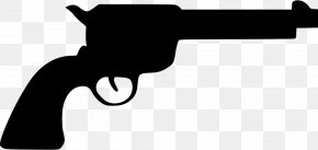Silhouette - Colt Single Action Army Revolver .45 Colt Colt's Manufacturing Company Firearm PNG