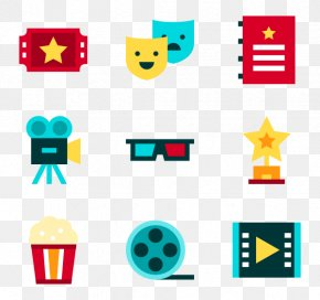 Entertainment Vector - Photographic Film Cinema Clip Art PNG