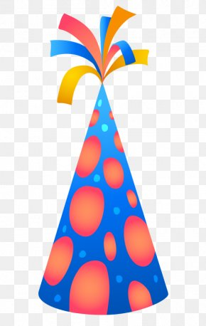 Birthday - Birthday Cake Party Hat Greeting & Note Cards PNG