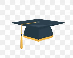 Bachelor Cap - Student Square Academic Cap Graduation Ceremony Hat Clip Art PNG