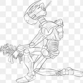 Robot Drawing - Line Art Finger Drawing Cartoon /m/02csf PNG