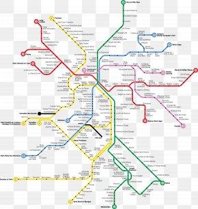 Vector Paris Metro Station Map - Arrondissement Of Paris Rapid Transit Train Rail Transport PNG