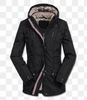 Winter Coat - CAMILLA RIDE PARKA Parca Jacket Overcoat Black PNG